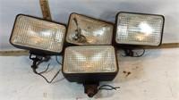 Set of 4 Headlamps