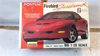 Lindberg Pontiac Firebird 1/20 Scale Level 2