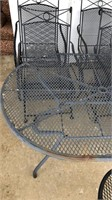 Wrought Iron Patio Set