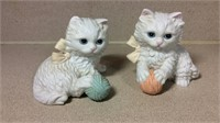 Homco Kitten Cats and Puppies Figurines