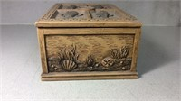 Men's Fish Decorated Jewelry Dresser Box
