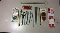 Knitting Needles, Darners, Electric Scissors &