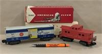 983 MP box car w/box & 806 caboose