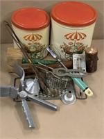 13 pc retro kitchen ware