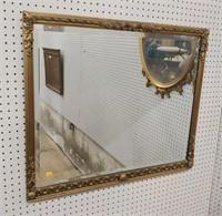 Tall gold frame mirror