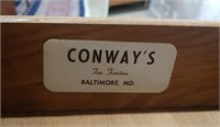 Light up mini secretary by Conway of Baltimore