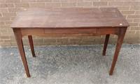 Pine home made hall table
