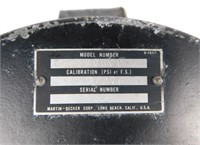 Nasa Apollo Martin Pressure Gauge