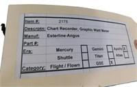 Nasa Apollo Mission Chart Recorder Graphic Watt Me