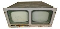 Nasa Apollo Mission  Dual Television Monitor
