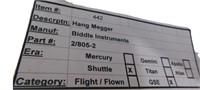 Nasa Space Shuttle  Hang Megger