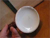 """Antique Monk Mug Germany 3&5/8"""""""