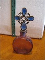 Bottle with Jeweled Stopper