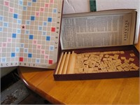 Vtg Scrabble Game (not sure if complete)