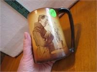 """Antique Warwick Monk Mug 4&1/4"""""""