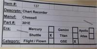 Nasa Space Shuttle Chart Recorder
