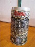 """1990 Coors Beer Stein 7"""""""