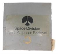 Nasa Apollo Mission Wooden Box Cover Space Divisio