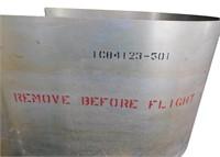 Nasa Apollo Mission Remove Before Flight Covers
