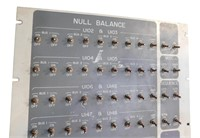 Nasa Apollo  Atlas Missile  Null Balance Panel