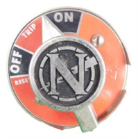 Nasa Apollo Command Module Circuit Breaker 1965