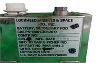 NASA Space Shuttle Battery Secondary Pod (Poseiden