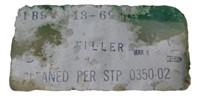 Nasa Apollo Mission Saturn 1st Stage Filler
