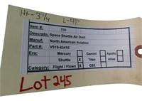 Flown Space Shuttle  Air Duct