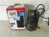 Utilitech Submersible Pump Used