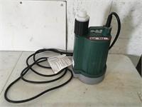 Zoeller Submersible Utility Pump No Box
