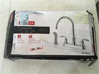 Delta Lorain Two Handle Faucet Open Box