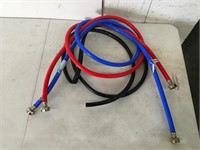 Lot of 3 Hoses