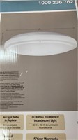 20 in LED round ceiling puff