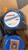 6 Lenox 26ft tape measures