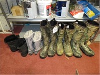 Men's La Crosse Boots, Ladies Sorel Boots