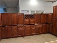 20Pc GrandReserve Cherry Dream Kitchen Cabinet Set
