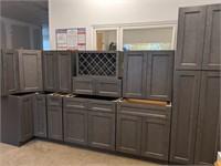 Townsquare Grey 11pc Kitchen Cabinet Set