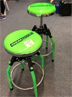 Pair of Adjustable OEM Shop Stools