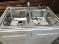 Kindred Sink w Franke Faucet