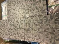 Deco Dark Gray Prism 12x24 Porcelain Tile