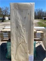 Pine Sliding Barn Door