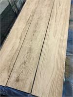 Wood Look White 6x48 Porcelain Tile