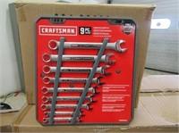 Craftsman 9 pc Wrench set SAE