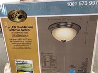 Hampton Bay Flush Mount LED Light Fixture