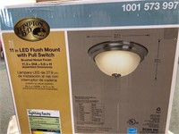 Hampton Bay Flush Mount LED Light Fixture