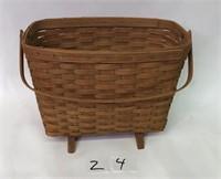 Longaberger Magazine Basket