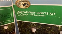 2 boxes of LED Pathway Lights Kit