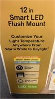12in Smart LED Flush Mount