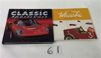 Classic Sports Cars & Automotive Toy Books