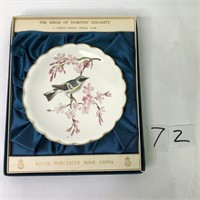 Birds of Dorothy Doughty Ryl Worcester China
